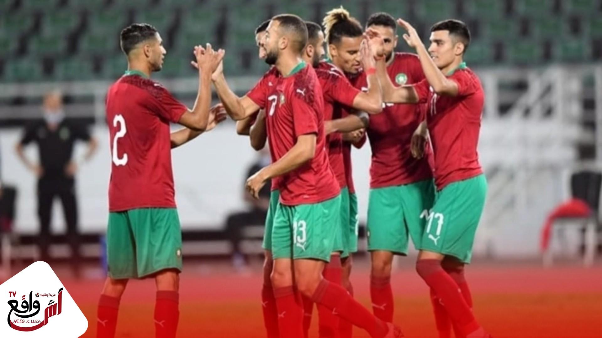 المنتخب المغربي يفوز بأربعة أهداف على إفريقيا الوسطى ويستعيدُ صدارةَ مجموعته
