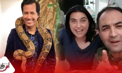 رسالة من رشيد الوالي وزوجته الى سيمو بنبشير -فيديو