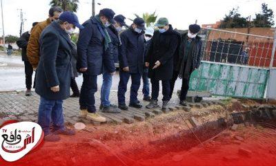 جولة ميدانية لمعاينة حجم الأضرار التي خلفتها التساقطات الأخيرة بإقليم النواصر