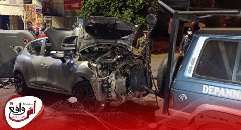 حادثة سير تتسبب في خسائر وخيمة بمراكش +صور