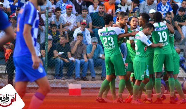 الرجاء البيضاوي يحقق فوزا صعبا على سريع واد زم ويواصل صدارة البطولة الاحترافية