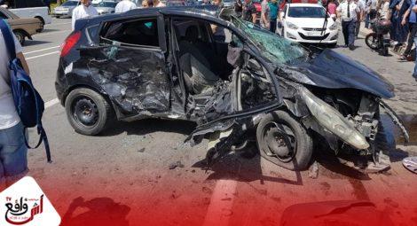 15 قتيلا و2111 جريحا حصيلة حوادث السير بالمناطق الحضرية خلال الأسبوع الماضي