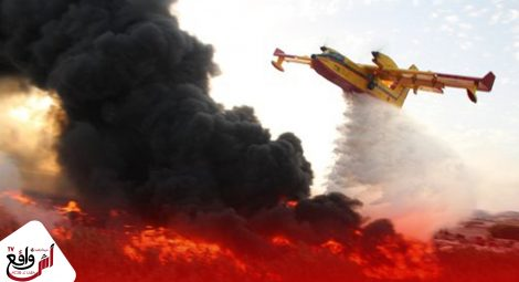 طنجة : السيطرة على حريق أتى على 36 هكتارا من الغابة الدبلوماسية