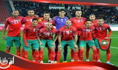 المنتخب المغربي يحافظ على مركزه ال43 في التصنيف العالمي للاتحاد الدولي لكرة القدم
