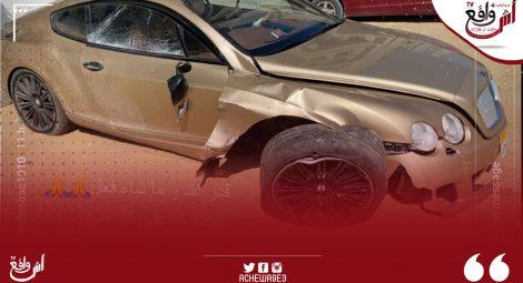 نجم المنتخب المصري يتعرض لحادثة سير