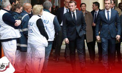 هكذا عبر ماكرون عن الوضع الوبائي الخطير بفرنسا
