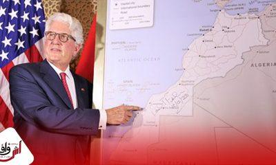 رسميا الحكومة الأمريكية تقدم خريطة المغرب الكاملة