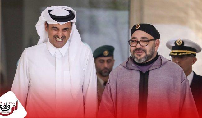 أمير قطر يهاتف الملك محمد السادس بخصوص معبر الكركرات