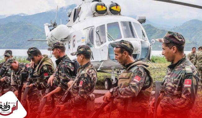 الجيش المغربي يقيم حزاما أمنيا في الكركرات لتأمين حركة المرور