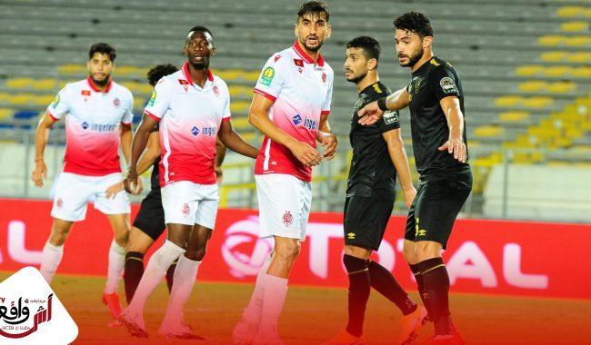 الوداد ينهزم في لقائه مع نادي الأهلي المصري