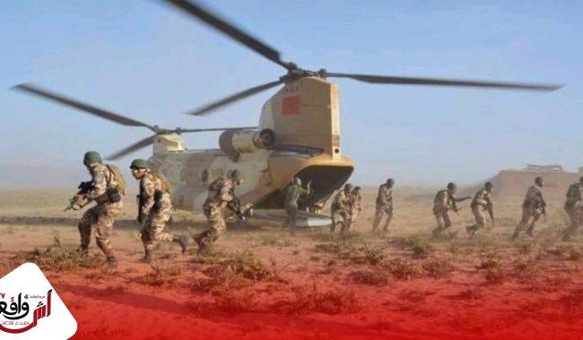 القوات المسلحة الملكية تضع حزاما أمنيا لتأمين تدفق السلع والأفراد عبر المنطقة العازلة للكركرات