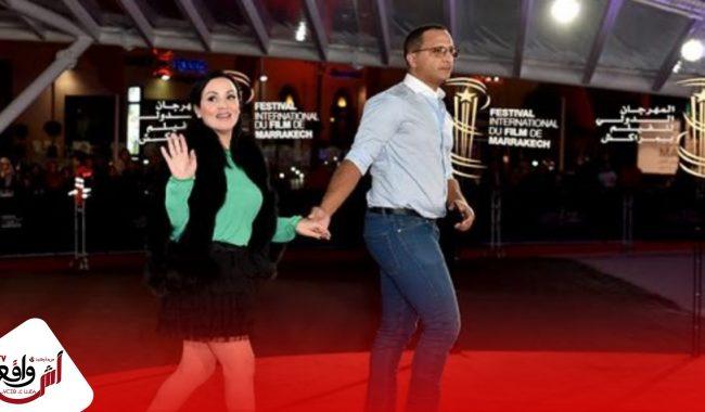 سناء عكرود تغازل زوجها : رفيق دربي وكاتم أمري وسرّي