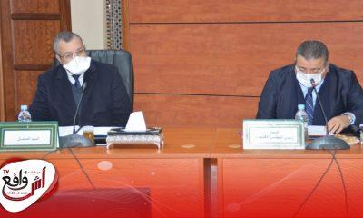 المجلس الاقليمي لسيدي قاسم يصادق على اتفاقية إحداث مكتب للتكوين المهني بجرف الملحة